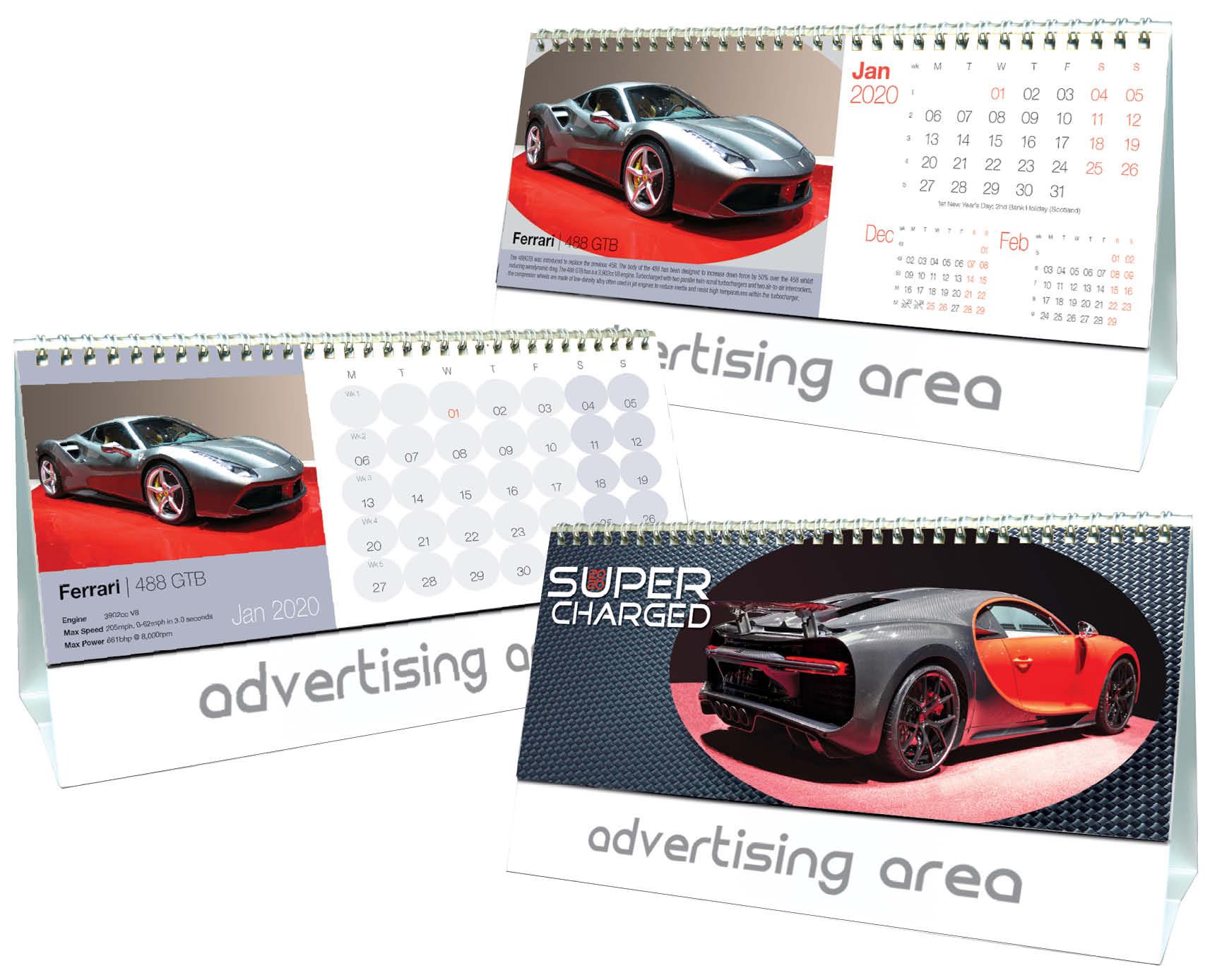 Supercharged-2020-Desk-Calendar-3D-Cover-Leaves